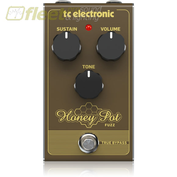 Tc Electronic Honeypot Fuzz Effects Pedal Guitar Distortion Pedals