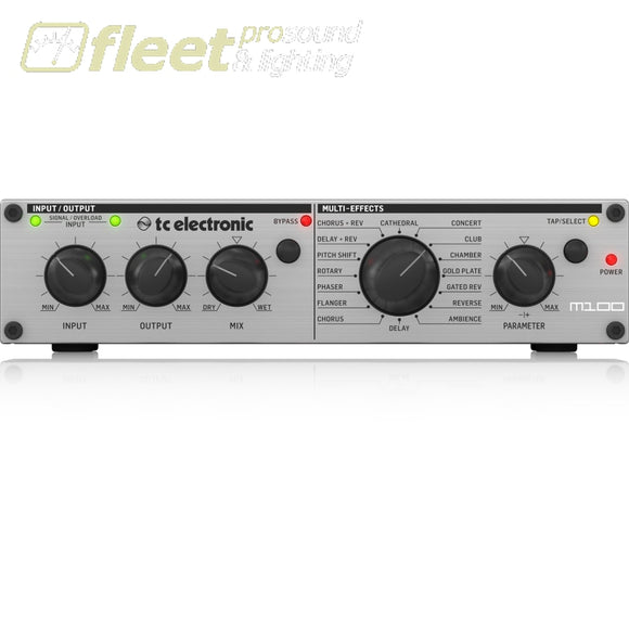 Tc Electronic M100 Multi-Effects Processor With Legendary Tc Reverbs And Effects Effects Processors