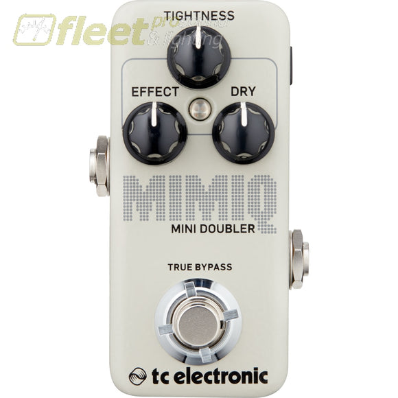 TC Electronic MIMIQ-MINI Doubling Pedal with Responsive Tightness Control for Hyper-Realistic Voice Doubling GUITAR DELAY PEDALS