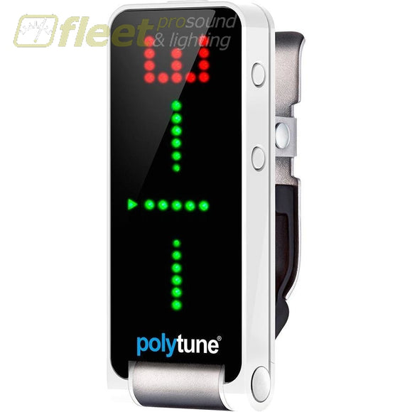 TC Electronic POLYTUNE CLIP Polyphonic Clip-on Chromatic Tuner TUNERS