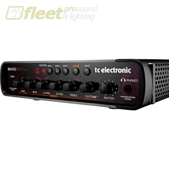Tc Electronic Rh750 750W Bass Amp Head Bass Heads