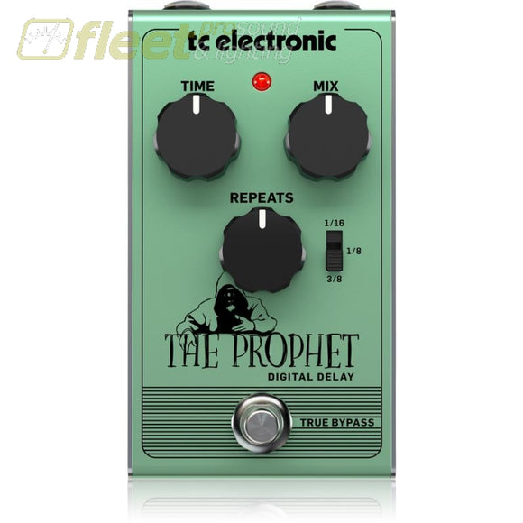 Tc Electronic The Prophet Digital Delay Effect Pedal Guitar Delay Pedals