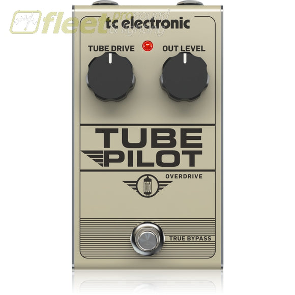 Tc Electronic Tubepilot Overdrive Pedal With Warm And Expressive Sound Guitar Multi Fx