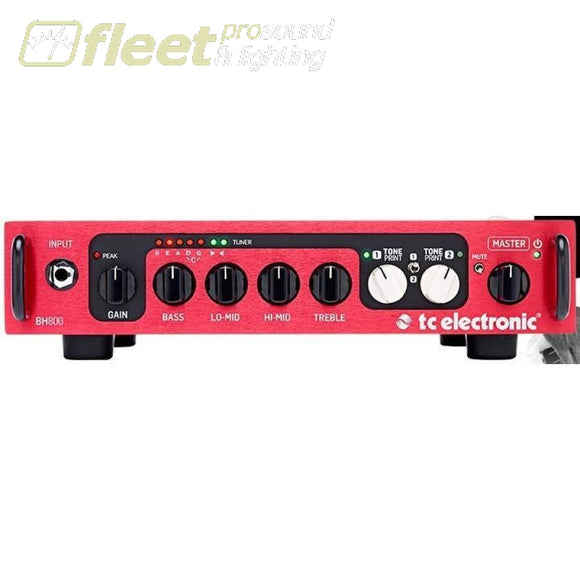 TC Electronics BH800 Bass Amp Head BASS HEADS