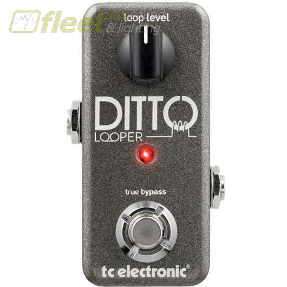 Tc Electronics Ditto Looper Effect Pedal Guitar Looper Pedals
