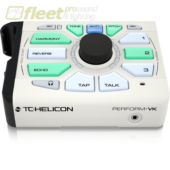 Tc Helicon Preform-Vk Mic-Stand Mount Vocal Processor Effects Processors