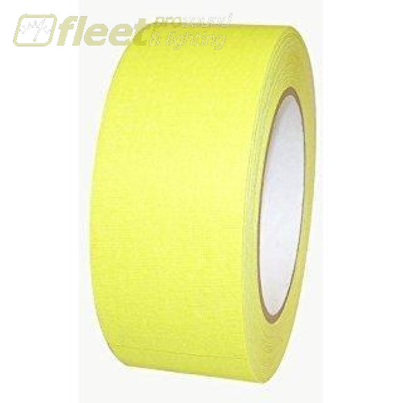 Tory Tape 10001Y Neon Yellow Duct Tape 48 Mm X 55 M Gaffer Tapes