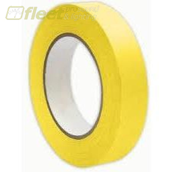 Tory Tape 2175 Duct Tape 1 Inch 60 Yard Yellow Gaffer Tapes