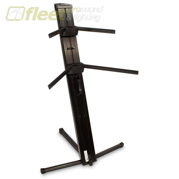 Ultimate Apex Ax-48 Pro Black Two-Tier Column Keyboard Stand Keyboard Stands