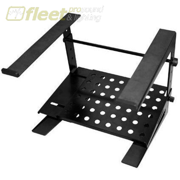 Ultimate Js-Lpt200 Laptop Stand 2 Tier Black Computer Stands