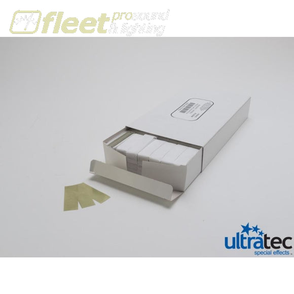 Ultratec Pro Fetti 1 Pd/0.5 KG Stacked Flame Proof White paper /Gold Mylar CONFETTI