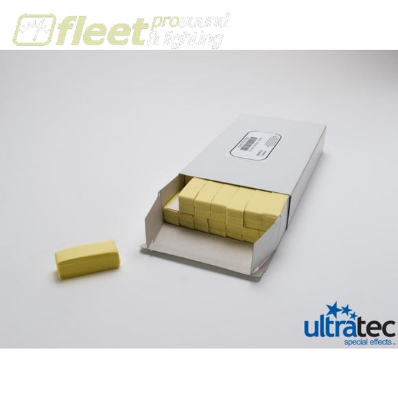 Ultratec Pro Fetti PAP-2025 -1 Pd/0.5 KG Box Stacked Flame Proof Yellow CONFETTI