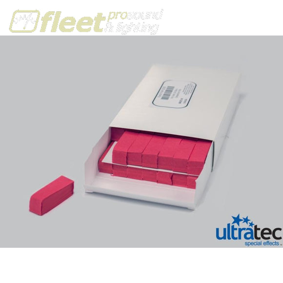 Ultratec Pro Fetti Pap-2035 -1 Pd/0.5 Kg Box Stacked Flame Proof Dark Pink Confetti
