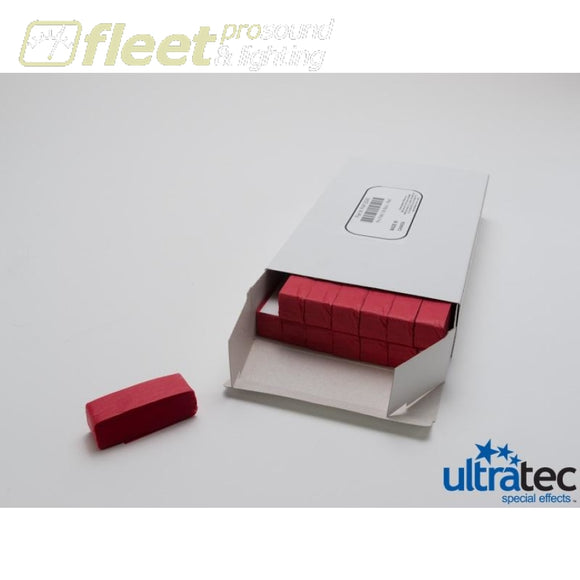 Ultratec Pro Fetti Pap-2045 -1 Pd/0.5 Kg Box Stacked Flame Proof Red Confetti