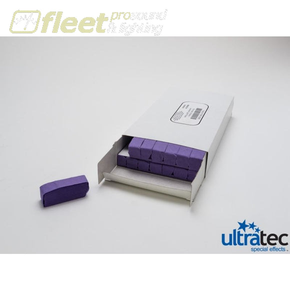 Ultratec Pro Fetti Pap-2050 -1 Pd/0.5 Kg Box Stacked Flame Proof Pansy Purple Confetti