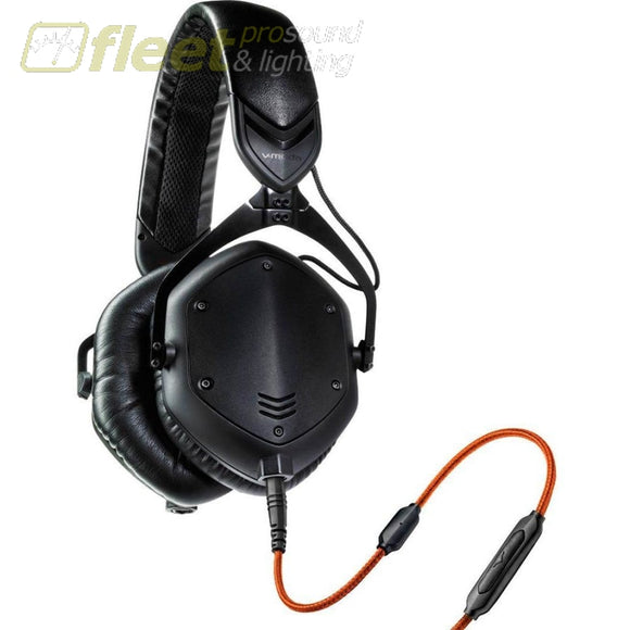 V-Moda Crossfade M-100-U-Bk Headphones (Matte Black) Dj Headphones