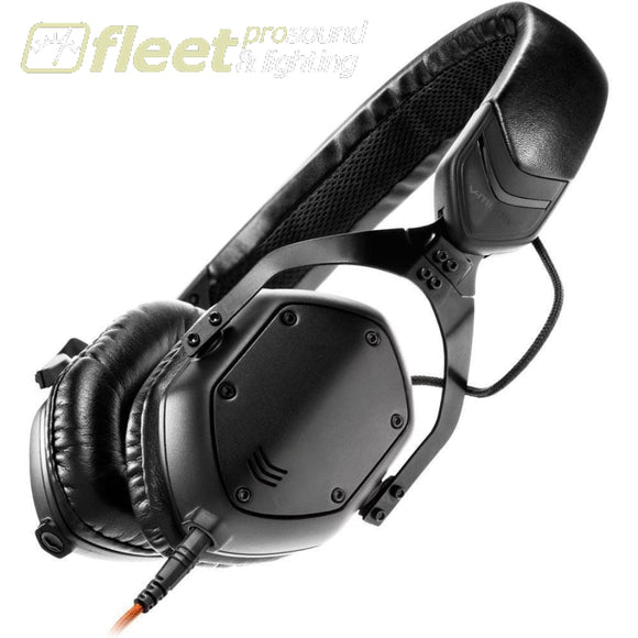 V-Moda Xs-U-Bk On-Ear Headphones (Matte Black Metal) Prosumer Headphones