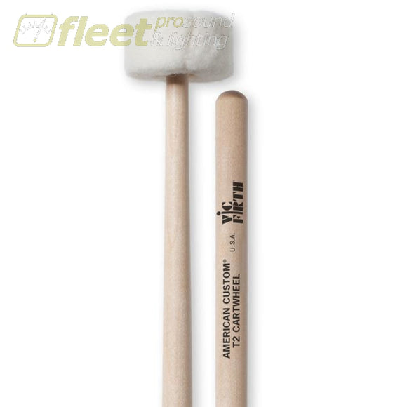 VIC FIRTH VF-T2 Cartwheel Timpani Mallets STICKS