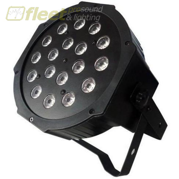 Vivid VL-1801 RGB 18x1-Watt LED DMX Wash Light LED PAR CANS