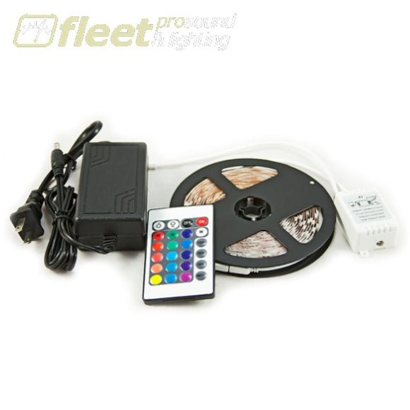 Vivid VL-SMD5050RGBIP65KIT 5 Meter RGB LED IP65 Strip Kit with 5M roll of RGB5050 Strip Remote & PSK LED FLEX STRIP