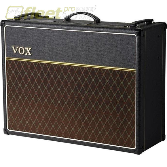 Vox Ac30C2X Combo Amp - 2 Channel 30W Combo 2X12 Alnico Blue Speakers Opt Vfs2A F Guitar Combo Amps
