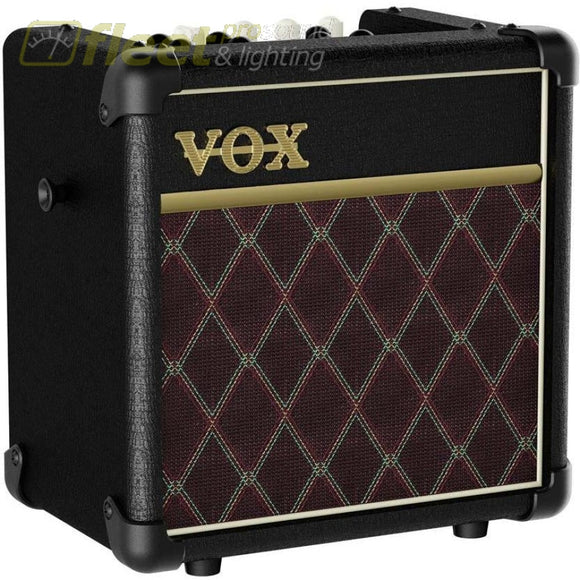 Vox Mini5-Rm-Cl - 5W Busking Amp Guitar Combo Amps