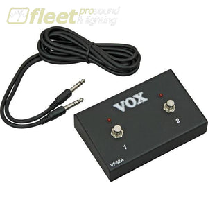 Vox Vfs2A Footswitch With Led Foot Switches