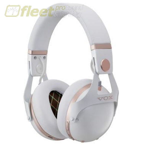 Vox VH-Q1WH Bluetooth Noise Cancelling Headphones - White STUDIO HEADPHONES