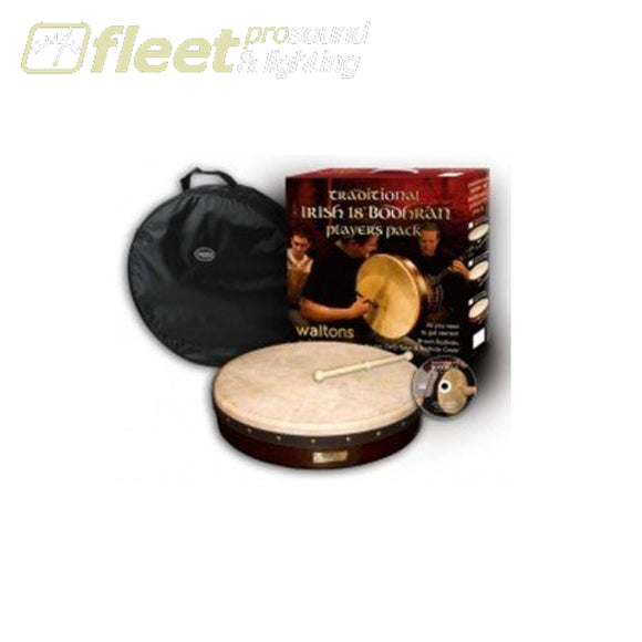 Walton 10Awal-P1900-418Db 18 Bodhran Pack (Beater/bag Inc) Handheld Percussion