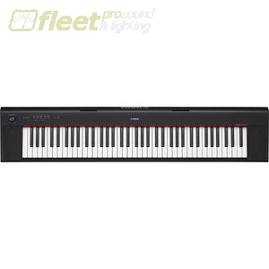 Yahama Np32 B Piaggero 76-Key Portable Keyboard - Black Keyboards & Synthesizers