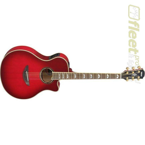 Yamaha APX1000 CRB Acoustic-Electric Solid-Spruce Top Guitar - Crimson Red Burst Finish 6 STRING ACOUSTIC WITH ELECTRONICS