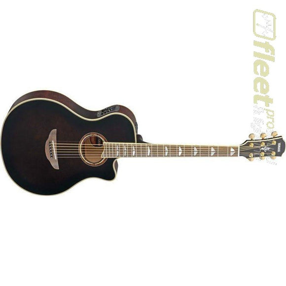 Yamaha APX1000 MBL Acoustic-Electric Solid-Spruce Top Guitar - Mocha Black Finish 6 STRING ACOUSTIC WITH ELECTRONICS