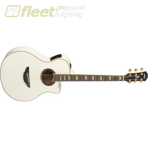 Yamaha APX1000 PW Acoustic-Electric Solid-Spruce Top Guitar - Pearl White Finish 6 STRING ACOUSTIC WITH ELECTRONICS