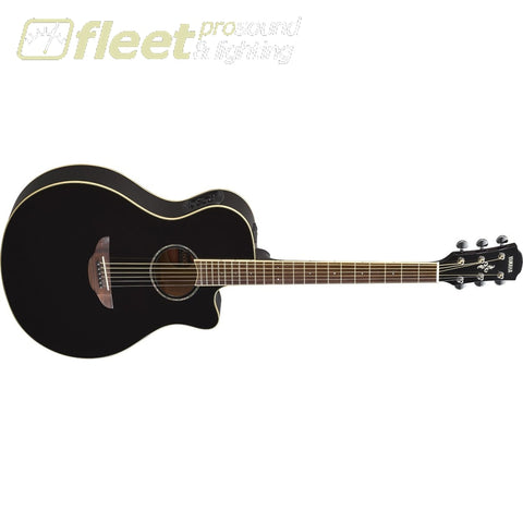 Yamaha Apx600 Thinline Acoustic Guitar With Electronics Black Ture 100% Guarantee Musical Instruments & Gear