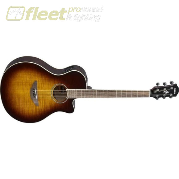 Yamaha APX600FM TBS Acoustic-Electric Flame Maple Top Guitar - Tobacco Brown Sunburst Finish 6 STRING ACOUSTIC WITH ELECTRONICS