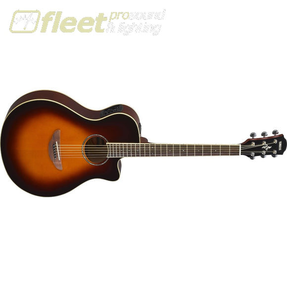 Yamaha APX600OVS Thinline Acoustic Electric Guitar - Old Violin Sunburst 6 STRING ACOUSTIC WITH ELECTRONICS