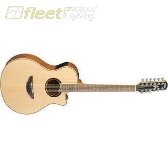 Yamaha APX700II-12 NT 12-String Acoustic-Electric Guitar - Natural Finish 12 STRING ACOUSTICS