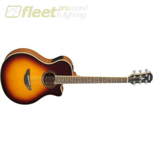 Yamaha APX700II BS Acoustic-Electric Solid-Spruce Top Guitar - Brown Sunburst Finish 6 STRING ACOUSTIC WITH ELECTRONICS