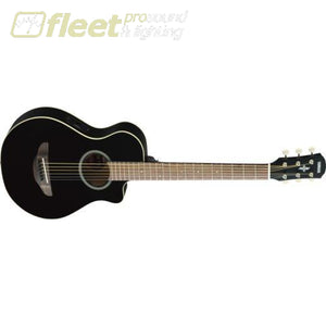 Yamaha APXT2 BL 3/4 Scale Acoustic Guitat - Black Finish 6 STRING ACOUSTIC WITH ELECTRONICS