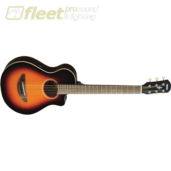 Yamaha APXT2 OVS 3/4 Scale Acoustic Guitar - Old Violin Sunburst Finish 6 STRING ACOUSTIC WITH ELECTRONICS