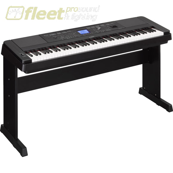 Yamaha Dgx660B 88-Key Electric Piano Black Digital Pianos