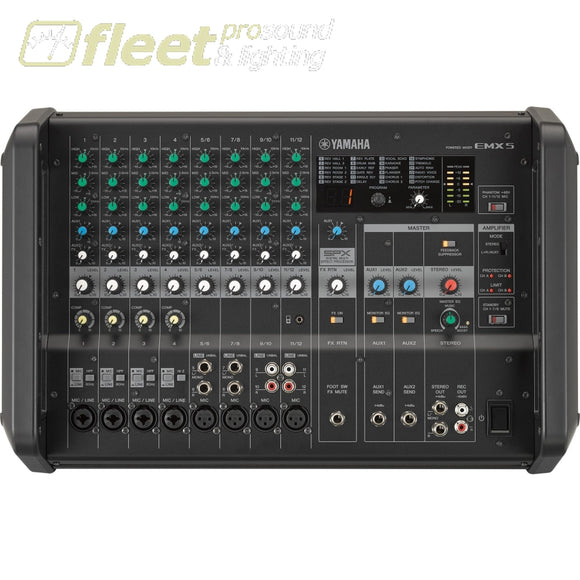 Yamaha Emx5 Powered Mixer Powered Mixers