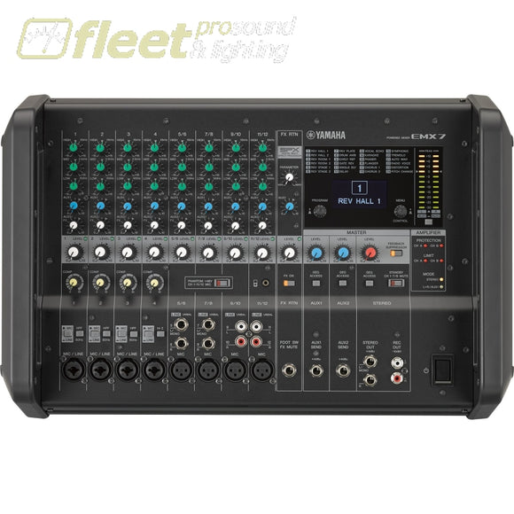 Yamaha Emx7 Powered Mixer Powered Mixers