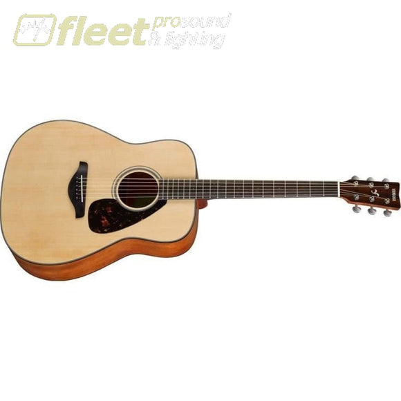 Yamaha FG800M Solid Spruce Top Acoustic Guitar - Natural Finish Matte 6 STRING ACOUSTIC WITHOUT ELECTRONICS