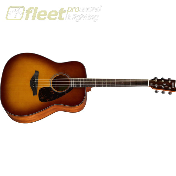 Yamaha Fg800Sdb Acoustic Guitar - Sandburst 6 String Acoustic Without Electronics