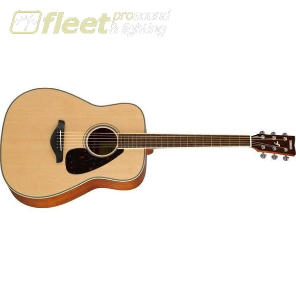 Yamaha FG820 Solid Spruce Top Acoustic Guitar - Natural Finish 6 STRING ACOUSTIC WITHOUT ELECTRONICS
