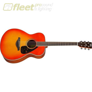 Yamaha FS820 AB Solid Spruce Top Acoustic Small Body Guitar - Autumn Burst Finish 6 STRING ACOUSTIC WITHOUT ELECTRONICS