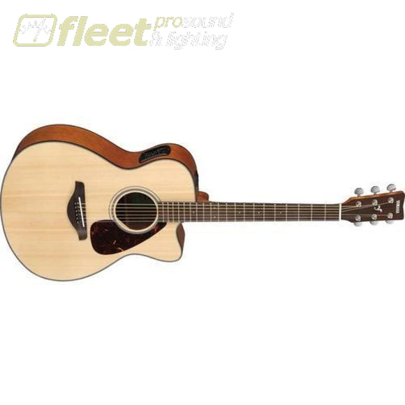 Yamaha FSX800C Folk Guitar Spruce Top - Natural 6 STRING ACOUSTIC WITH ELECTRONICS