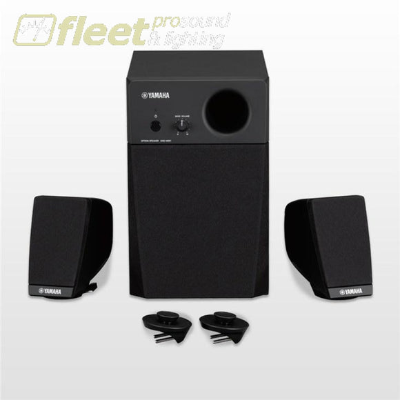 Yamaha Gnsms01 Matching Monitor Speakers For Genos Keyboard Amplifiers