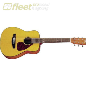 Yamaha Jr1 3/4 Scale Folk Guitar - Natural Finish 6 String Acoustic Without Electronics